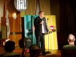Greg Morton on stage Halifax Comedy Festival