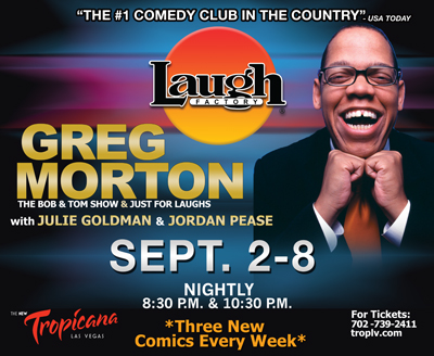 GREG MORTON IN VEGAS SEPT. 2 - 8 2013