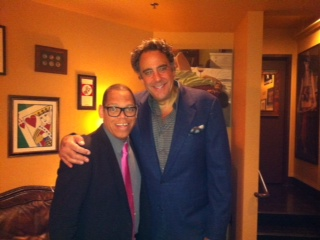 Backstage @ Brad Garrett's Comedy Club