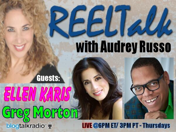 This Thursday! Comedians Ellen Karis & Greg Morton