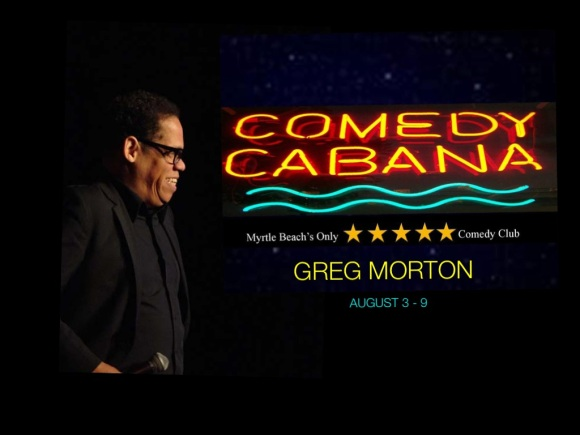 Comedy Cabana Greg Morton