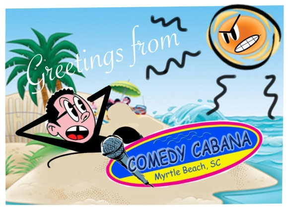 Comedy Cabana Post Card